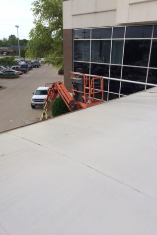 Commercial Pressure Washing - Rooftop